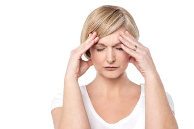 woman using psychic ability