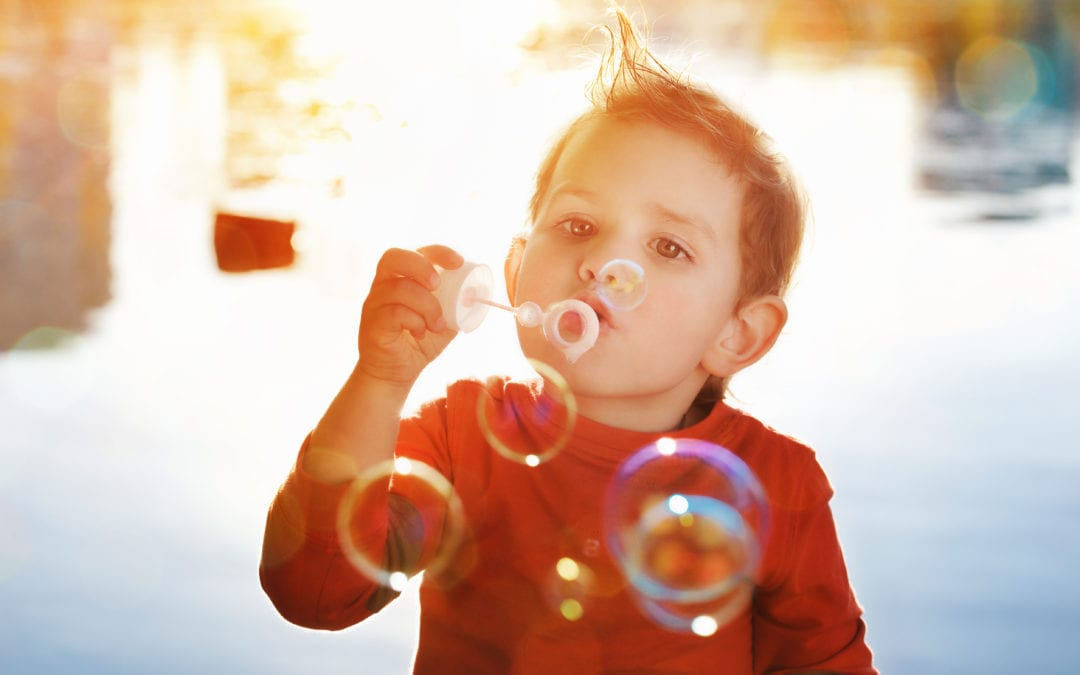 What bubbles taught me about God